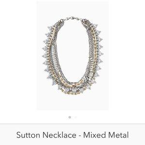 Sutton mixed metal Stella & Dot necklace